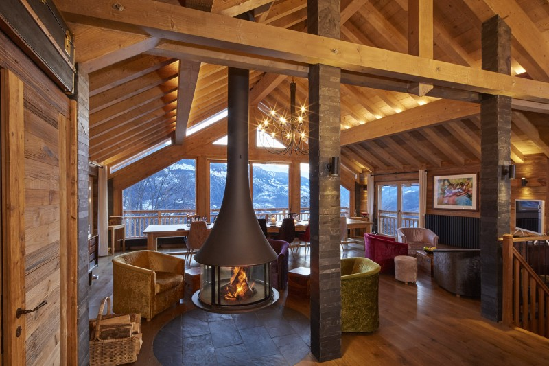 Méribel Luxury Rental Chalet Ulumite Living Room 4