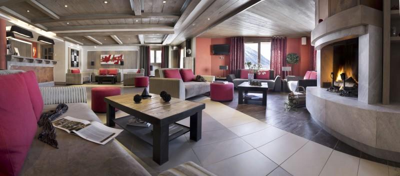 Montgenèvre Location Appartement Luxe Montana Agate Réception