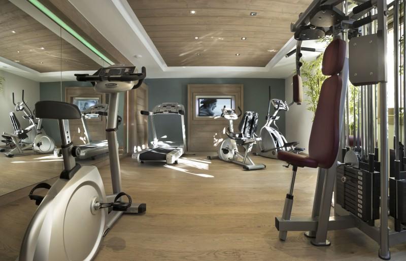 Montgenèvre Location Appartement Luxe Montana Agate Salle De Fitness