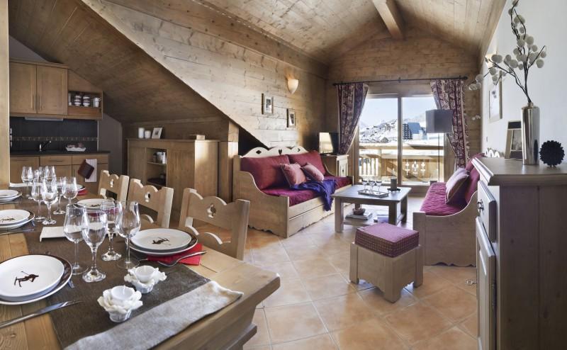 Montgenèvre Location Appartement Luxe Montana Agate Salon