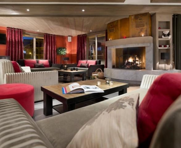 Montgenèvre Location Appartement Luxe Montana Jet Duplex Réception 1