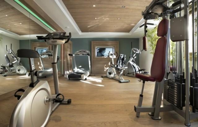 Montgenèvre Location Appartement Luxe Montana Ruby Salle de Fitness