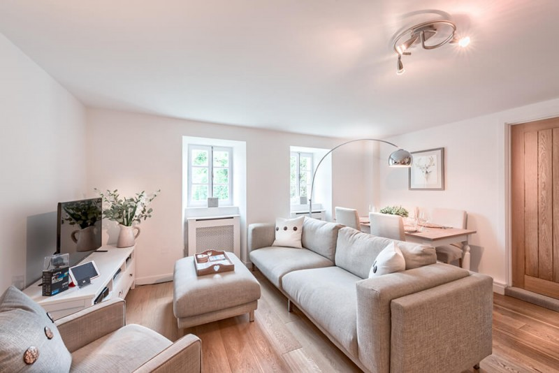 Morzine Luxury Rental Appartment Merlinuta Living Room 2