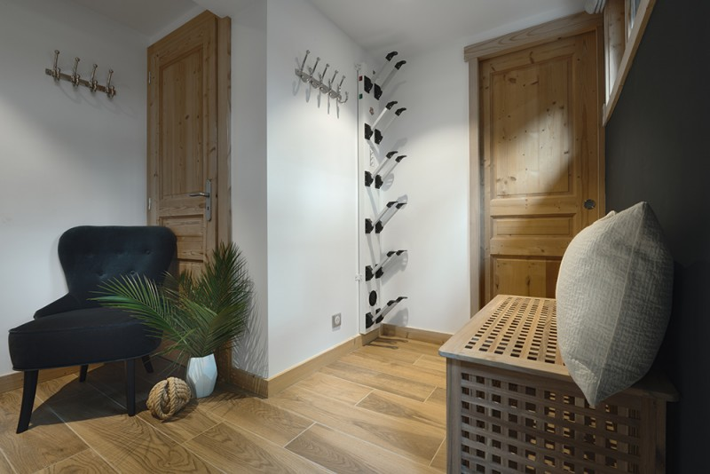 Morzine Luxury Rental Appartment Merlio Ski Room