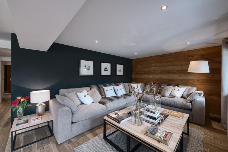 Morzine Luxury Rental Appartment Merlio Living Room 2