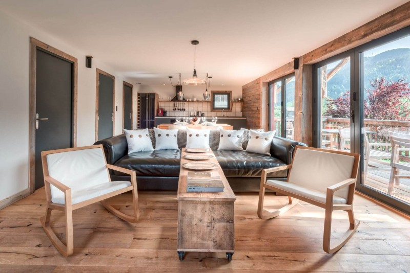 Morzine Location Appartement Luxe Morzilute Séjour 3