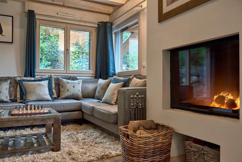 Morzine Luxury Rental Chalet Merlinate Living Room 6