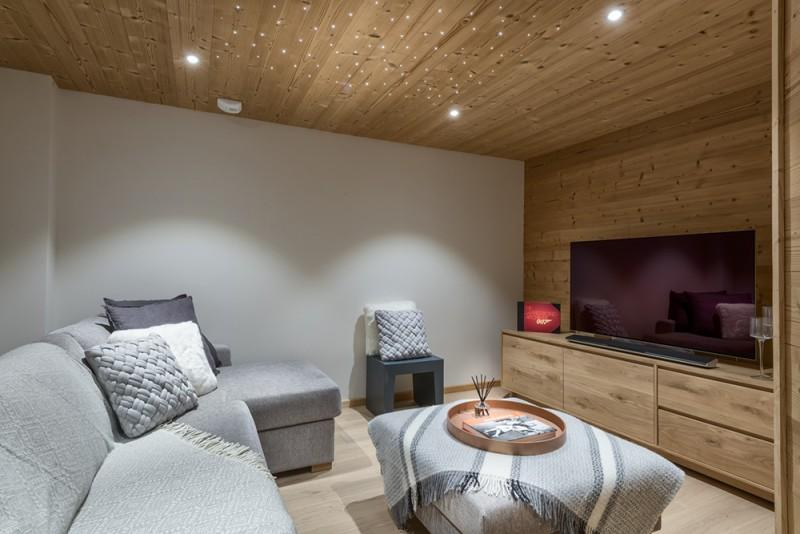 Morzine Luxury Rental Chalet Merline Cinema Room
