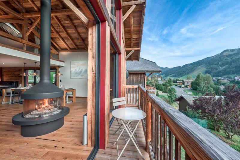 Morzine Luxury Rental Chalet Merlinte Balcony