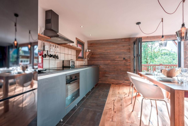 Morzine Luxury Rental Chalet Merlinte Kitchen
