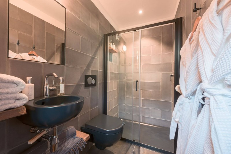Morzine Luxury Rental Chalet Merlinte Shower Room 3