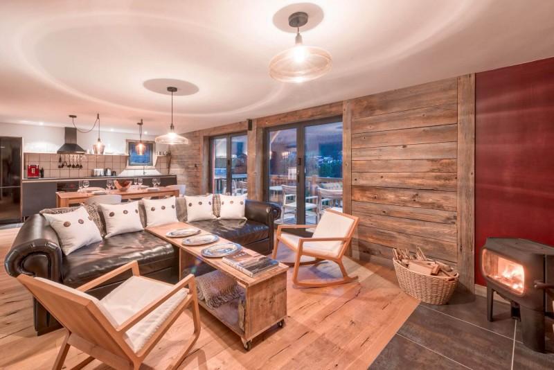 Morzine Luxury Rental Chalet Merlinte Living Room 2