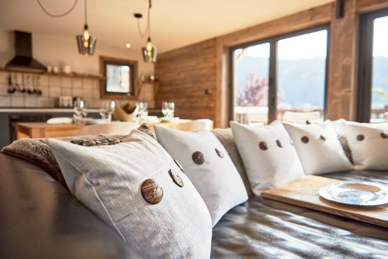 Morzine Luxury Rental Chalet Merlinte Living Room 3