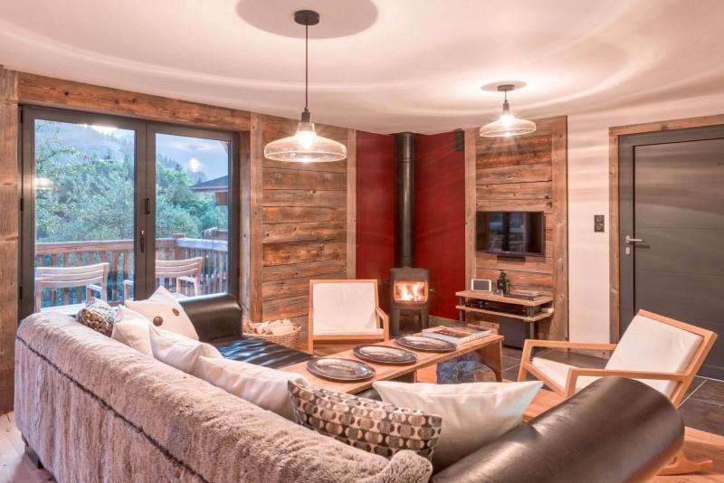 Morzine Luxury Rental Chalet Merlinte Living Room 4