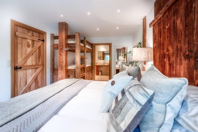 Morzine Luxury Rental Chalet Merlinute Bedroom 2