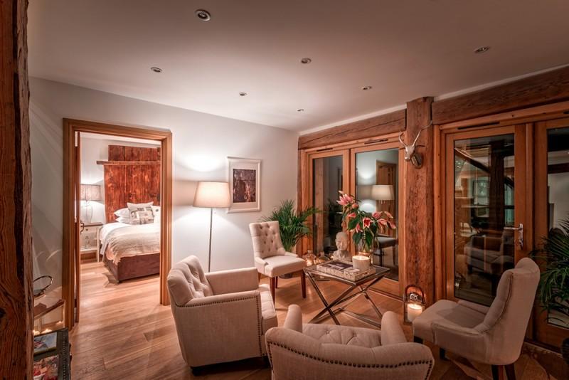 Morzine Luxury Rental Chalet Merlinute Bedroom
