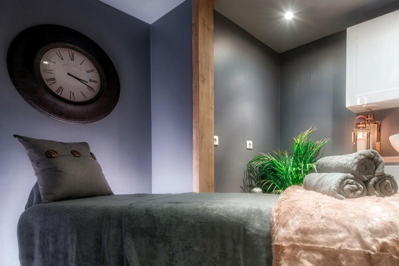 Morzine Luxury Rental Chalet Merlinute Massage Room