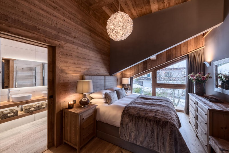 Morzine Location Chalet Luxe Morzanite Chambre 2
