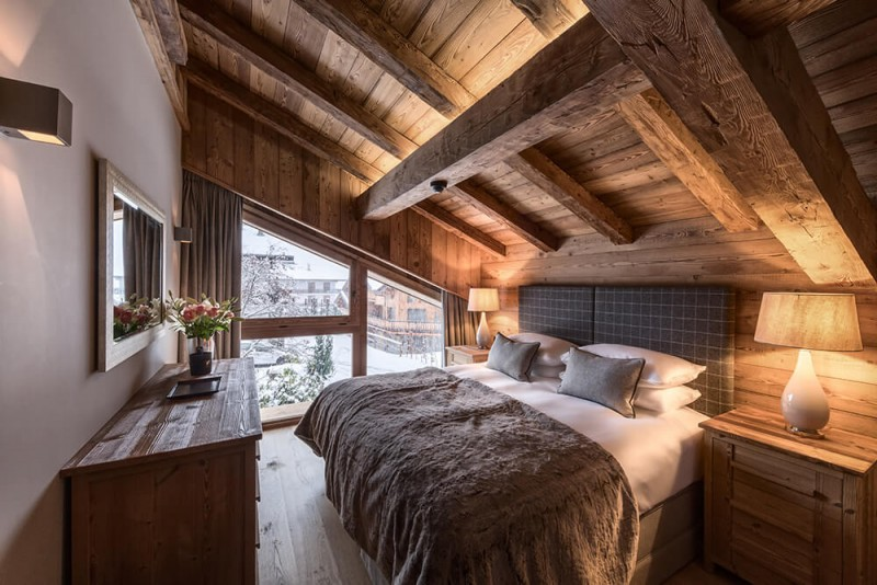 Morzine Location Chalet Luxe Morzanite Chambre