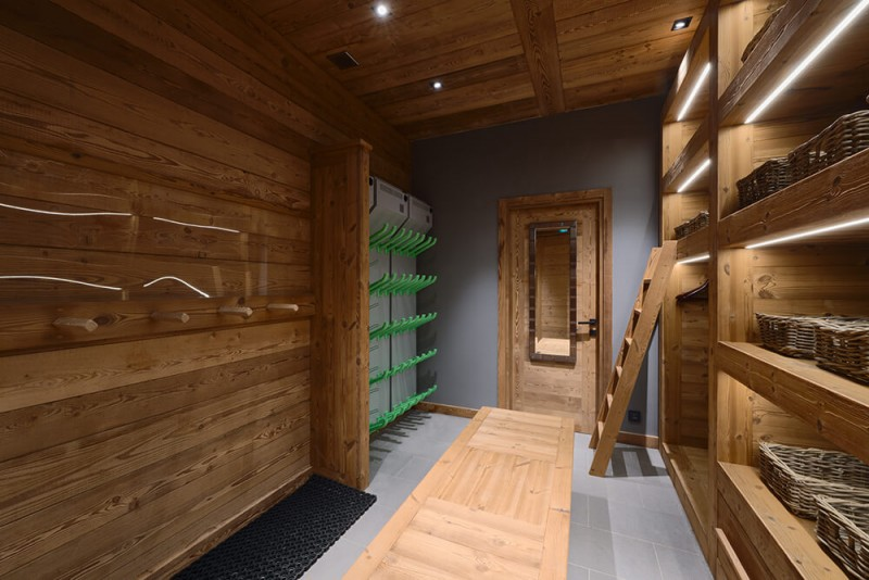 Morzine Location Chalet Luxe Morzanite Local A Ski