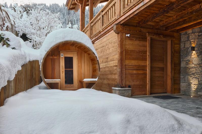 Morzine Luxury Rental Chalet Morzanite Sauna