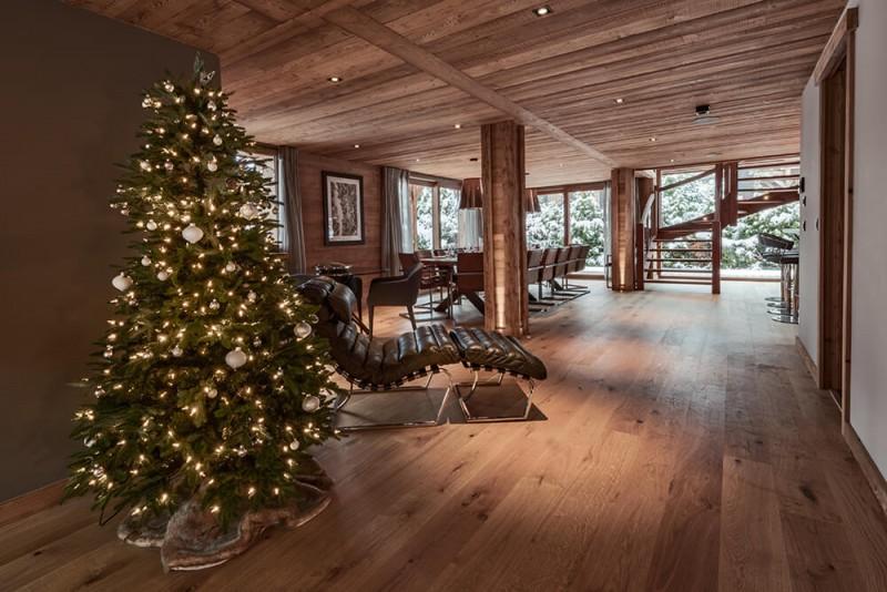 Morzine Luxury Rental Chalet Morzanite Living Room