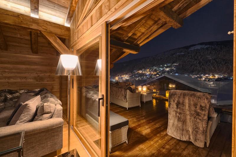 Morzine Luxury Rental Chalet Morzanite Terrasse 2
