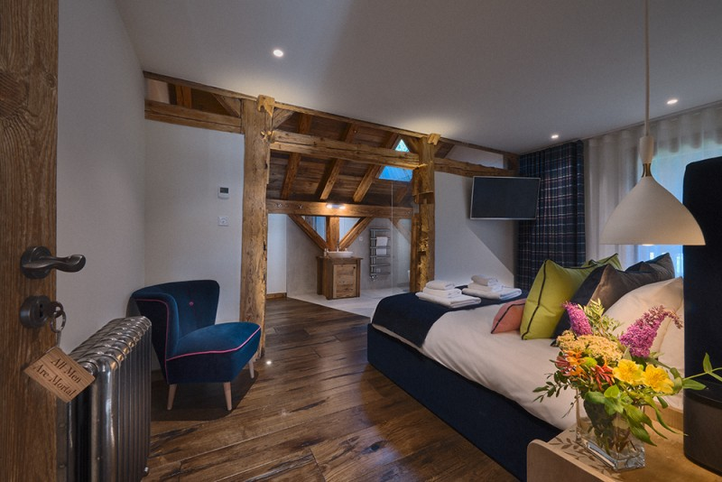 Morzine Location Chalet Luxe Morzinite Chambre 2