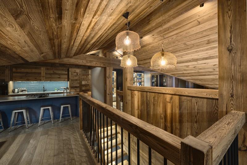 Morzine Luxury Rental Chalet Morzute Kitchen