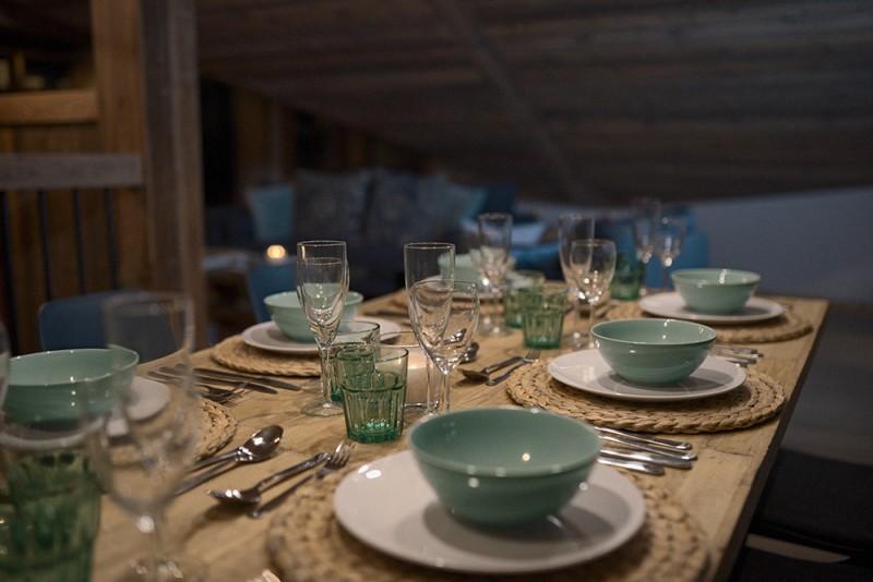 Morzine Luxury Rental Chalet Morzute Dining Room 2