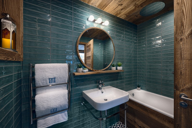 Morzine Luxury Rental Chalet Morzute Bathroom