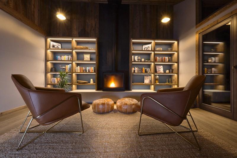 Morzine Luxury Rental Chalet Morzute Living Room 2