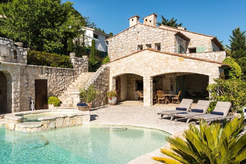 Nice Luxury Rental Villa Nigritelle Pool 2