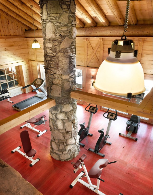 Peisey Vallandry  Location Appartement Luxe Magic Stone Salle De Fitness