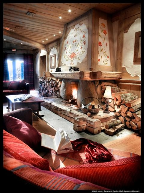 Peisey Vallandry  Location Appartement Luxe Marbre Onyx Réception