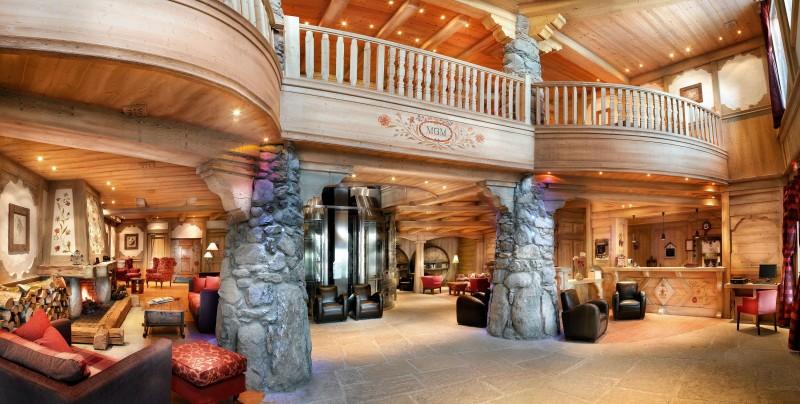 Peisey Vallandry  Location Appartement Luxe Marbre Réception
