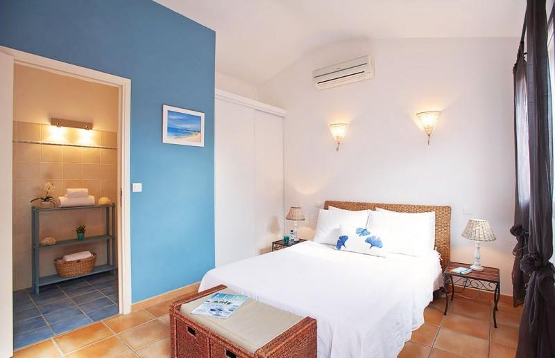 Porto-Vecchio Location Villa Luxe Quelva Chambre