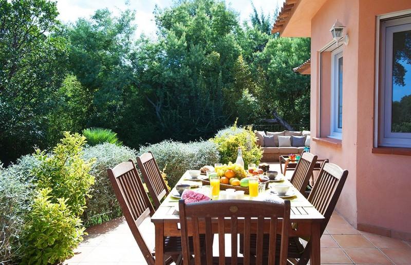 Porto-Vecchio Location Villa Luxe Quelva Table Exterieure