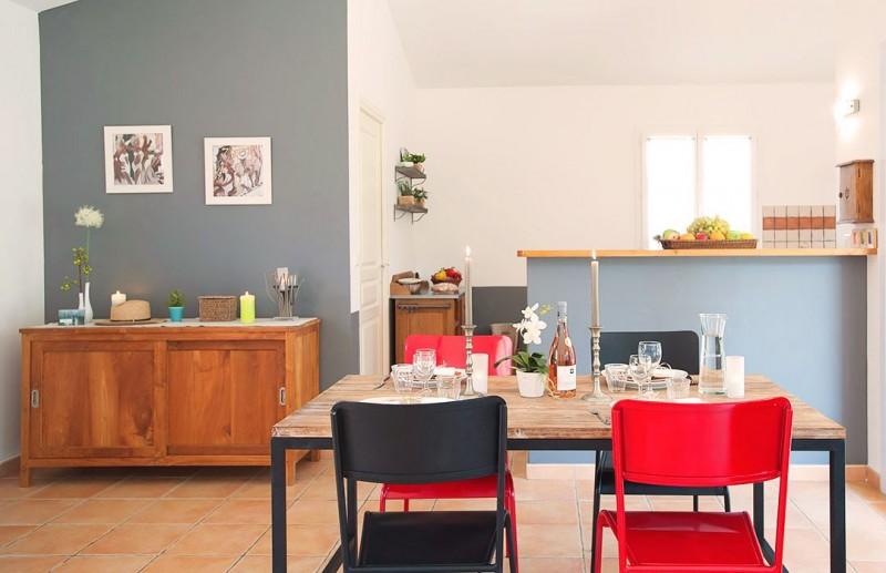 Porto-Vecchio Location Villa Luxe Quelva Table à Manger