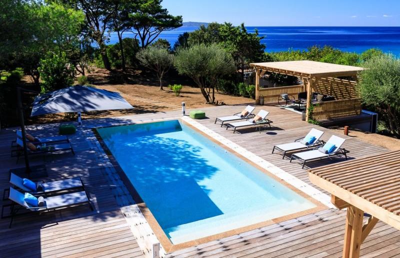 Propriano Location Villa Luxe Prelis Piscine