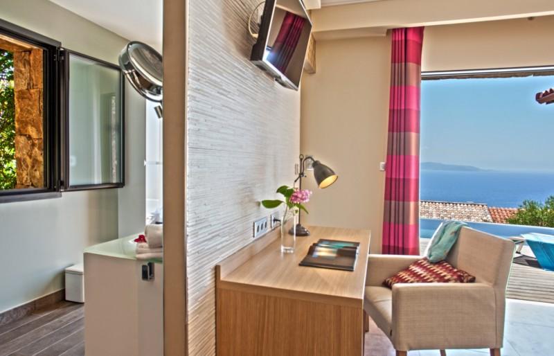 Propriano Location Villa Luxe Prelou Chambre 2