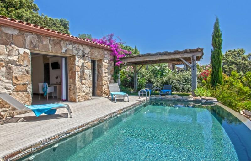 Propriano Location Villa Luxe Prelou Piscine 2