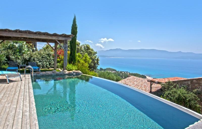 Propriano Location Villa Luxe Prelou Piscine 3