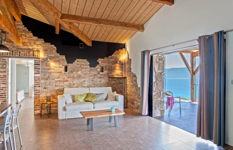 Propriano Location Villa Luxe Prelou Séjour 2
