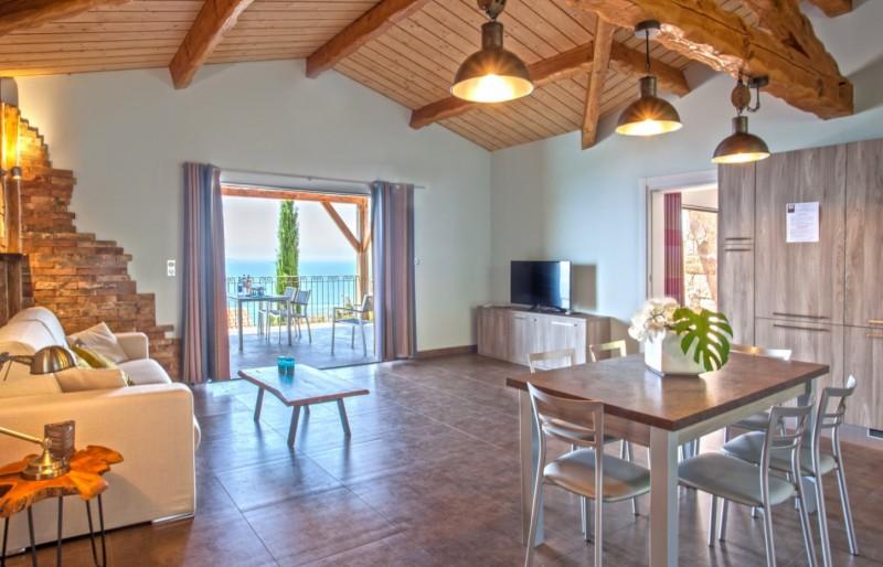 Propriano Location Villa Luxe Prelou Séjour