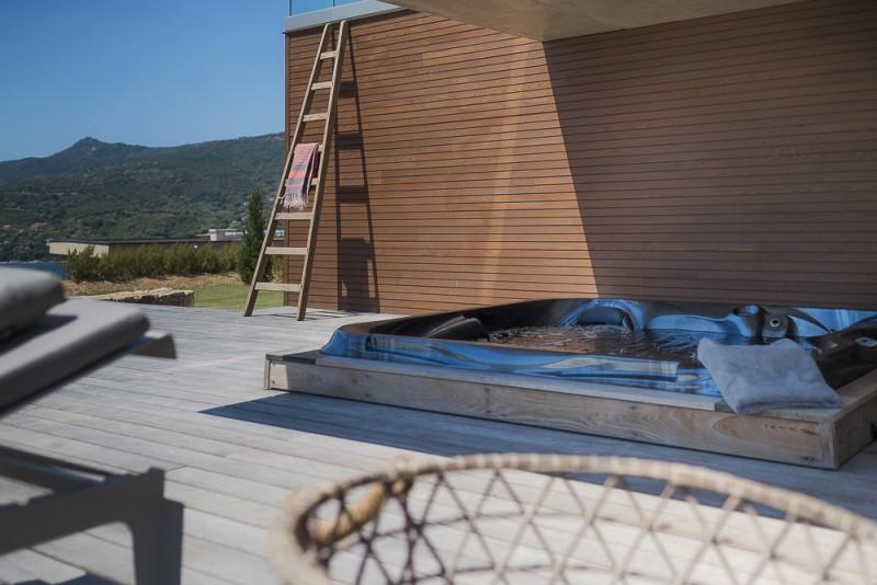 Propriano Location Villa Luxe Pyrile Jacuzzi