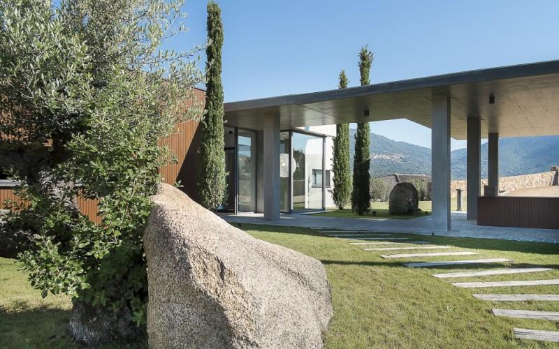Propriano Location Villa Luxe Pyrile Jardin