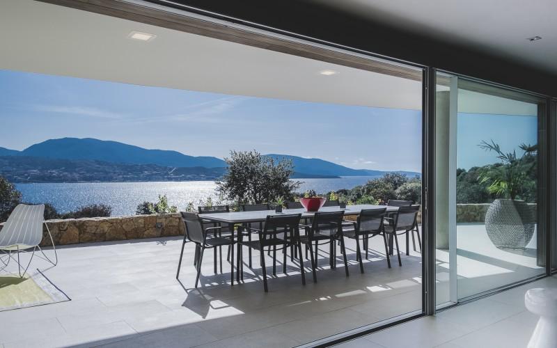 Propriano Location Villa Luxe Pyrule Table Extérieure