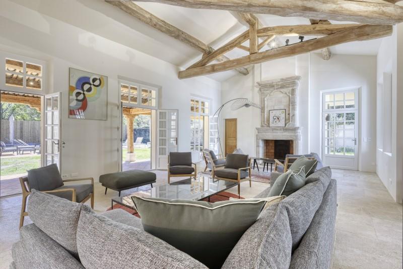 Ramatuelle Location Villa Luxe Galkite Salon