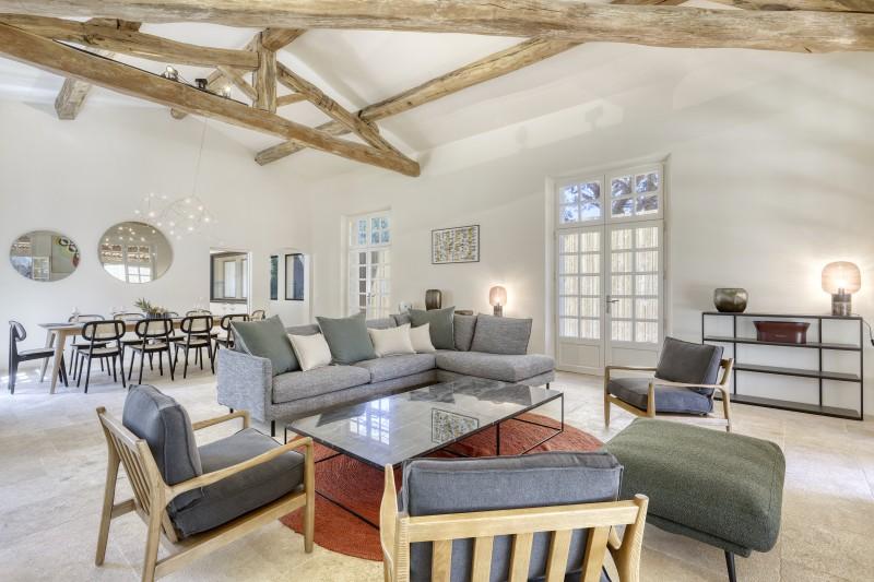 Ramatuelle Location Villa Luxe Galkite Séjour1